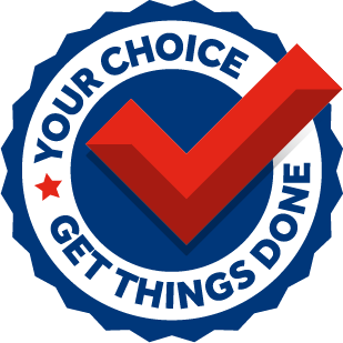 Your Choice. Get things done.